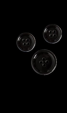 Three black buttons.