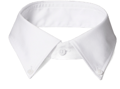 An INDOCHINO button down collar.