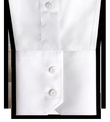A two button angled INDOCHINO cuff.