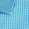 Aqua Gingham Wrinkle-Free Shirt2