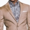 Tan Oxford Weave Suit1